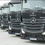 Dolo Trans Olimpic a achiziţionat cea mai mare flotă de camioane Mercedes-Benz