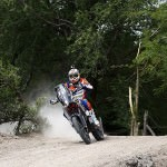 Dakar 2016, Mani Gyenes: Furtunile modifica traseul
