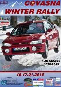 Winter Rally Covasna 2016