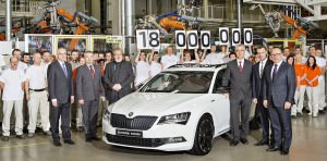 SKODA produced 18millionth car since 1905