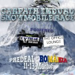 Amanat: Carpath Enduro Snowmobile Race se va desfasura pe 11-13 martie
