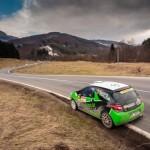 Adrian Raspopa obtine a treia victorie consecutiva la Tess Rally Brasov