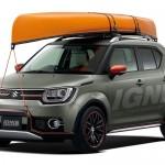 Suzuki promovează modelul IGNIS la Salonul Auto de la Beijing