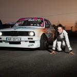 Campioana Europei la drift, Ramona Rusu, la prima competiţie în România după 3 ani