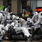 Williams egalează recordul pentru rapiditatea schimbărilor de pneuri