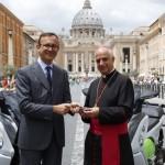 Modele electrice BMW folosite de Vatican