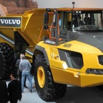 Cel mai mare ADT de la Volvo, echipat cu noile anvelope Goodyear OTR