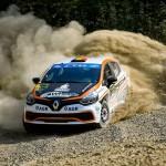 Raul Badiu si Gabriel Lazar obtin patru titluri la Cotnari Rally Iasi
