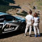 Andrei Mitrașcă – Magda Matei si Škoda Octavia RS230: record oficial de viteză pe Transfăgărășan