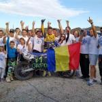 Adrian Răduţă aduce în România, cel de-al patrulea său titlu de campion est european de motocross, clasa MX1