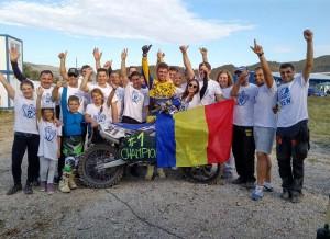 Adrian Raduta, a patra oara campion est european de  motocross