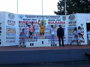 Aida Cojanu pe podiumul est european