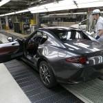 Mazda începe producţia modelului Mazda MX-5 RF