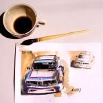 30 de zile de pictură Adrian Mitu pentru 100 de ani BMW
