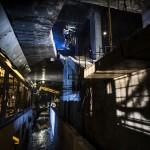 Premiera in Romania: Un francez s-a dat cu motocicleta la metrou