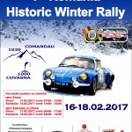 Premieră: Roumanie Historic Winter Rally