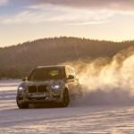 Noul BMW X3 este supus testelor în condiţii de iarnă