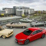 Opt decenii de nave amiral Opel
