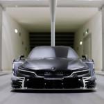 Noul BMW M4 DTM în tunelul aerodinamic