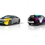 Premieră mondială la Salone del Mobile: Lapo Elkann şi Adrian van Hooydonk prezintă BMW i3 şi BMW i8 cu un look nou şi unic