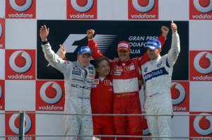 podium monza 2006