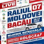 Program excepțional pentru Raliul Moldovei Bacău 2017
