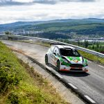 Campionul european Giandomenico Basso câștigă prima zi a BT Transilvania Rally powered by Ford