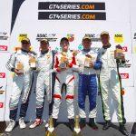Eduard Anton aduce prima victorie pentru România în GT4!
