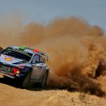 Doua echipaje Hyundai Motorsport se lupta pentru victorie in Raliul Sardiniei