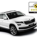 ŠKODA KODIAQ a obţinut punctajul maxim de 5 stele la testele de siguranţă Euro NCAP