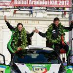 Bogdan Marișca aduce a treia victorie de etapă pentru NRA în Campionatul Național de Raliuri