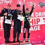 Călin Ciortan a câștigat a doua etapă din Campionatul Național de Drift