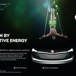 ŠKODA, parte integrantă din campania publicitară Cirque du Soleil