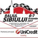 71 de echipaje înscrise la Raliul Sibiului UniCredit Leasing 2017