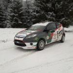 Pregatirea sezonului 2018 incepe la Winter Rally pentru Csongor Szabo si Rares Fetean
