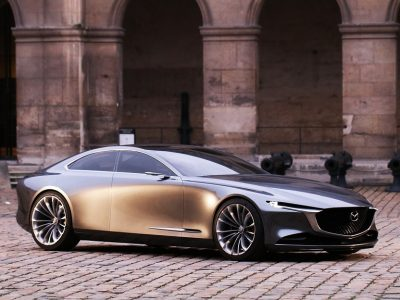 Mazda VISION COUPE a fost ales cel mai frumos concept