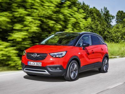 Opel Crossland X este 'Cel mai bun din clasa sa în 2017' la testele Euro NCAP