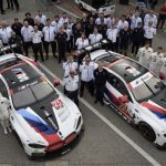 BMW M8 GTE, debut de bun augur la Daytona