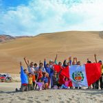 Raliul Dakar 2018: Tripleta de aur de la Peugeot Total isi revendica podiumul si revine in varf