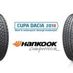 Cupa DACIA merge cu Hankook în 2018
