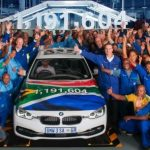 BMW Seria 3 Sedan părăseşte pentru ultima dată linia de producţie a uzinei BMW Group din Rosslyn