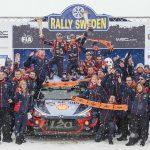 Hyundai Motorsport, triumf in Raliul Suediei