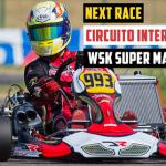 Recuperare impresionantă pentru Daniel Vasile la etapa a treia din WSK Super Master Series