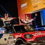 MINI îşi asigură victoria în Qatar Cross Country Rally 2018