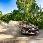 Podium pentru Alex Filip la prima etapă din Tour European Rally