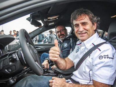 Alessandro Zanardi: noul BMW M5 pentru ambasadorul mărcii BMW