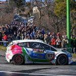 Bogdan Marisca, secondat de catre Karoly Borbely, pregatit pentru startul la Transilvania Rally