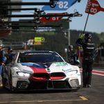 BMW M8 GTE în cursa de debut în FIA WEC