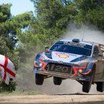 Hyundai Motorsport se lupta pentru un loc pe podium si in Raliul Sardiniei