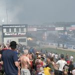 Adrian Apostu, destainuri despre drag racing pe pista de la Santa Pod